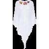 MIGUELINA Floral-appliquéd crochet-knit - Cardigan -