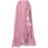 MILLA MILLA asymmetric ruffled striped s - Skirts -