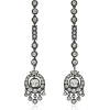MINDI MOND long line French chandeliers - Earrings -
