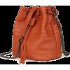 MINI SOFT GENUINE LEATHER BUCKET BAG - Hand bag - $76.97  ~ £58.50