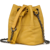 MINI SOFT GENUINE LEATHER BUCKET BAG - Hand bag - $76.97