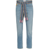 MIRA MIKATI woven belt cropped jeans - Jeans -