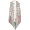 MISSONI Fringed lamé shawl - Cardigan -