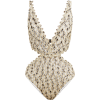 MISSONI MARE  Fishscale-knitted plunge s - Kostiumy kąpielowe -
