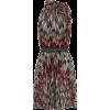 MISSONI Metallic knit minidress - Платья -
