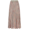MISSONI Striped cotton-blend midi skirt - Krila -