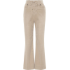 MIU MIU Corduroy high-rise flared pants - Capri & Cropped - 590.00€  ~ $686.94