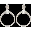 MIU MIU Crystal-embellished clip-on earr - Earrings -