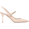 MIU MIU Crystal-embellished patent-leath - Zapatos clásicos -