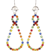 MIU MIU Crystal teardrop earrings - Earrings -