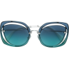 MIU MIU EYEWEAR oversized sunglasses - Sunglasses -