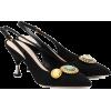 MIU MIU Embellished pumps - Klasyczne buty -