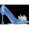MIU MIU Embellished satin pumps$990 - Scarpe classiche -