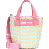 MIU MIU Faux-leather bucket bag - メッセンジャーバッグ - 799.00€  ~ ¥104,701