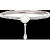 MIU MIU Faux pearl and crystal choker - Ожерелья -