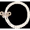 MIU MIU Faux pearl and crystal necklace - Necklaces -