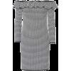 MIU MIU Striped knit minidress - Kleider -