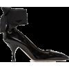 MIU MIU back ankle ribbon escarpin - Scarpe classiche -