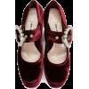 MIU MIU bordeaux velvet embellished - Classic shoes & Pumps -