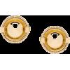 MIU MIU brooch-style earrings - 耳环 -