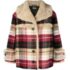 MIU MIU checkered print coat - Jakne i kaputi -