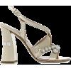 MIU MIU crystal-embellished sandals - Sandały -