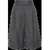 MIU MIU cuffed knee lenght shorts - pantaloncini -