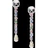 MIU MIU embellished drop earrings - Earrings -