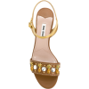 MIU MIU embellished strap sandals - Sandals -