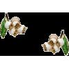 MIU MIU floral stud earrings - Earrings -