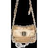 MIU MIU golden metallic bag - ハンドバッグ -