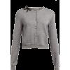 MIU MIU grey cardigan - Cardigan -