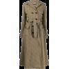 MIU MIU light brown trench coat - Jacket - coats -