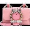 MIU MIU pink embellished bag - Torbice -