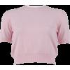 MIU MIU pink sweater - 套头衫 -