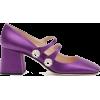 MIU MIU purple embellished shoe - Classic shoes & Pumps -