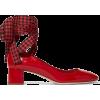 MIU MIU red with red & black ribbon shoe - Klasični čevlji -