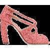 MIU MIU strappy glitter sandals - Sandale -