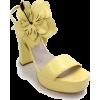 MIU MIU yellow sandal - Sandálias -