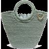 MIZELE Sun mini crocheted cotton tote - Borsette -