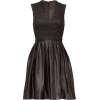 ML Monique Lhuillier Black Regina Dress - Kleider -