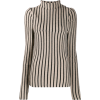 MM6 MAISON MARGIELA striped knit top - Pullovers -