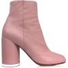 MM6 MAISON MARTIN MARGIELA Peony Pink So - Škornji -