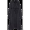 MOLLY GODDARD black poplin coat - Kurtka -