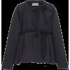 MOLLY GODDARD black poplin jacket - Jacket - coats -