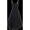 MOLLY GODDARD black satin dress - Dresses -