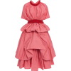 MOLLY GODDARD pink taffeta dress - Vestidos -