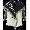 MONCLER Logo-jacquard wool scarf jacket - Jakne i kaputi -