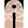 MONCLER Logo wool-blend scarf - Scarf -