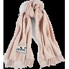 MONCLER light pink scarf - スカーフ・マフラー -